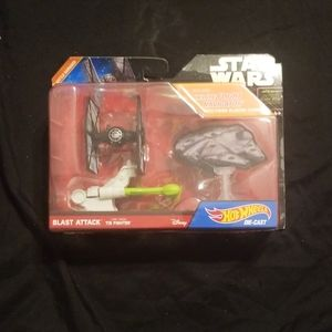 Star Wars Blast Attack Tie Fighter Hot Wheels
